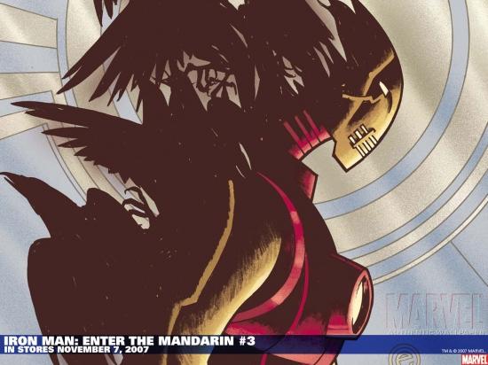 Iron Man: Enter the Mandarin (2007) #3 Wallpaper