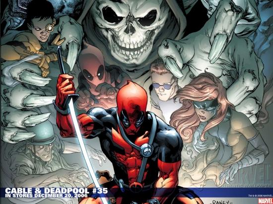 Cable & Deadpool (2004) #35 Wallpaper