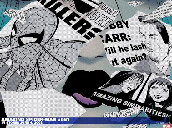 Amazing Spider-Man (1999) #561 Wallpaper