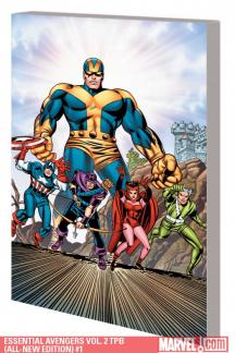 Essential Avengers Vol. 2 (All-New Edition) (Trade Paperback)