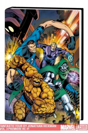 Fantastic Four by Jonathan Hickman Vol. 3 (Hardcover)