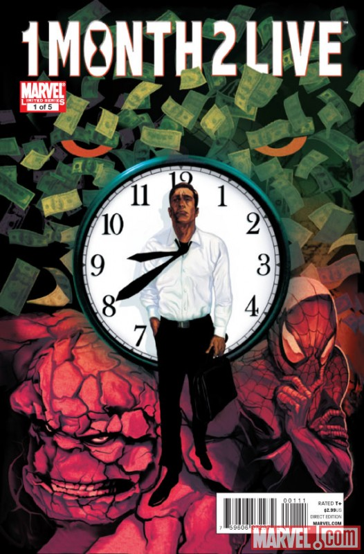Heroic Age: One Month to Live (2010) #1