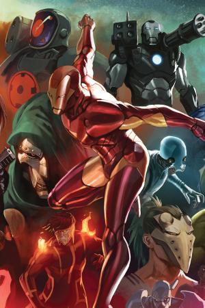 Invincible Iron Man #501  (DJURDJEVIC VARIANT)