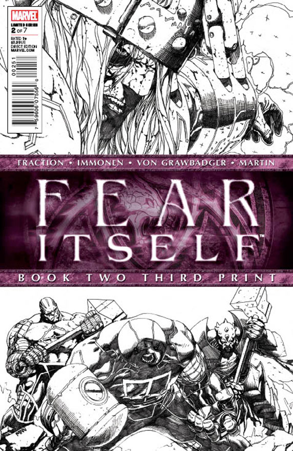 Fear Itself (2010) #2 (3rd Printing Variant)