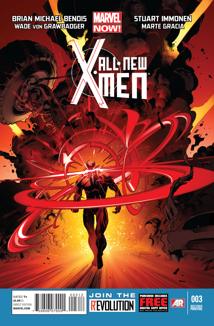 All-New X-Men (2012) #3 (2nd Printing Variant)