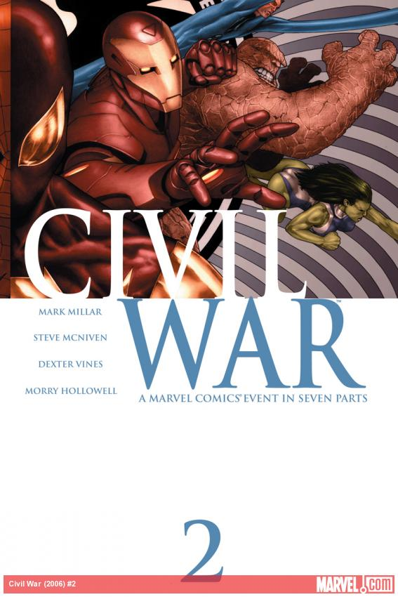 Civil War (2006) #2