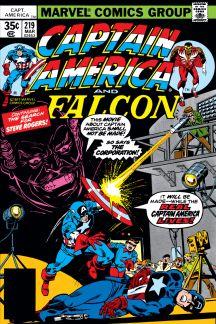 Captain America #219