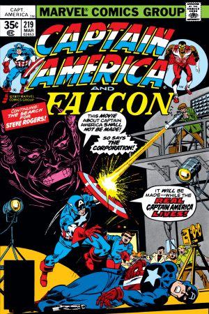 Captain America (1968) #219