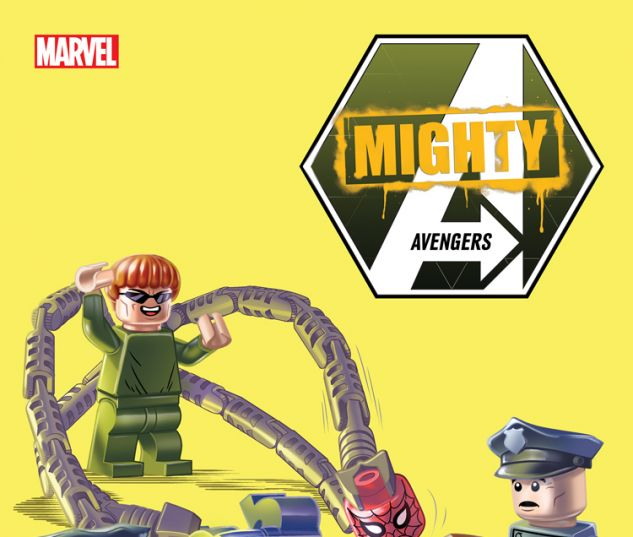 MIGHTY AVENGERS 1 CASTELLANI LEGO VARIANT (INF, WITH DIGITAL CODE)