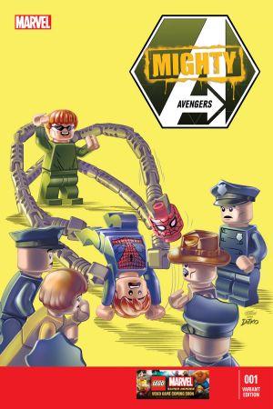 Mighty Avengers (2013) #1 (Castellani Lego Variant)