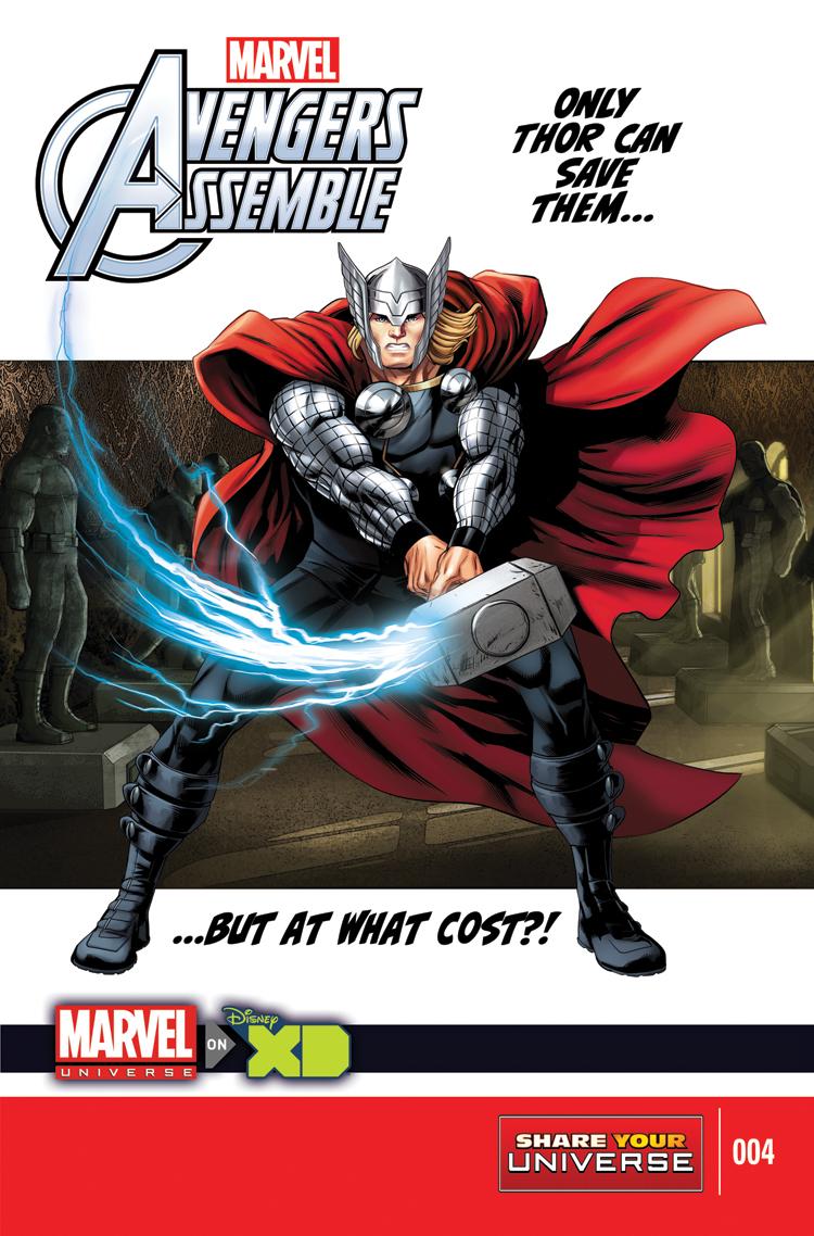 Marvel Universe Avengers Assemble (2013) #4