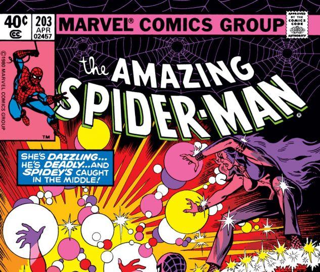 Amazing Spider-Man (1963) #203 Cover