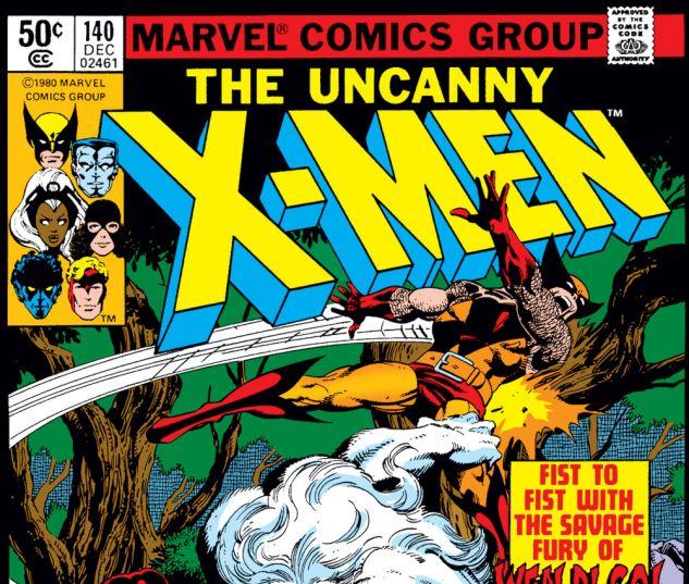 Uncanny X-Men (1963) #140 Cover