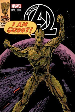 New Avengers #26  (Francavilla Rr&G Variant)