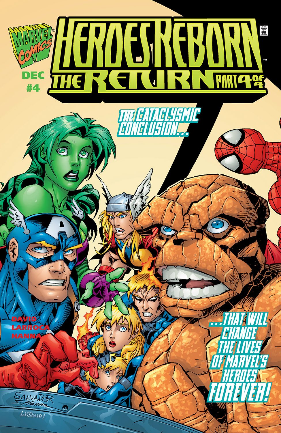 Heroes Reborn: The Return (1997) #4