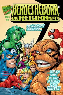 Heroes Reborn: The Return #4