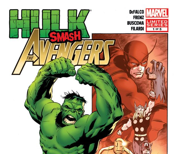 HULK SMASH AVENGERS (2011) #1 Cover