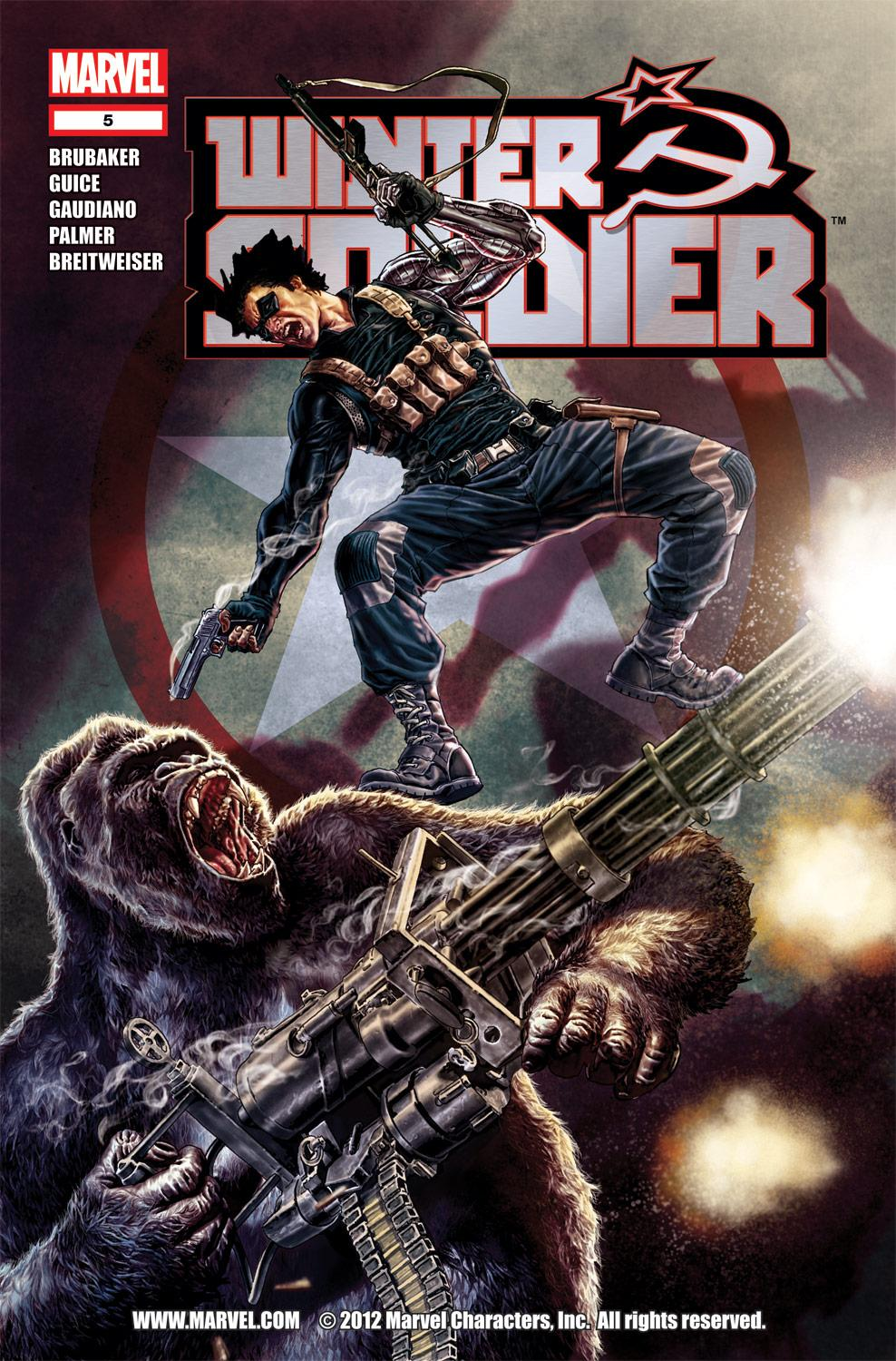 Winter Soldier (2012) #5