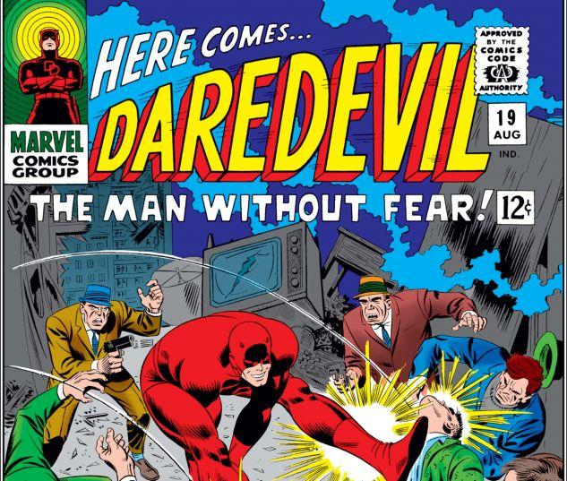 DAREDEVIL (1964) #19 Cover