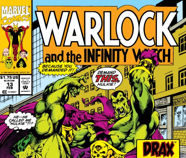 WARLOCK AND THE INFINITY WATCH (1992) #13