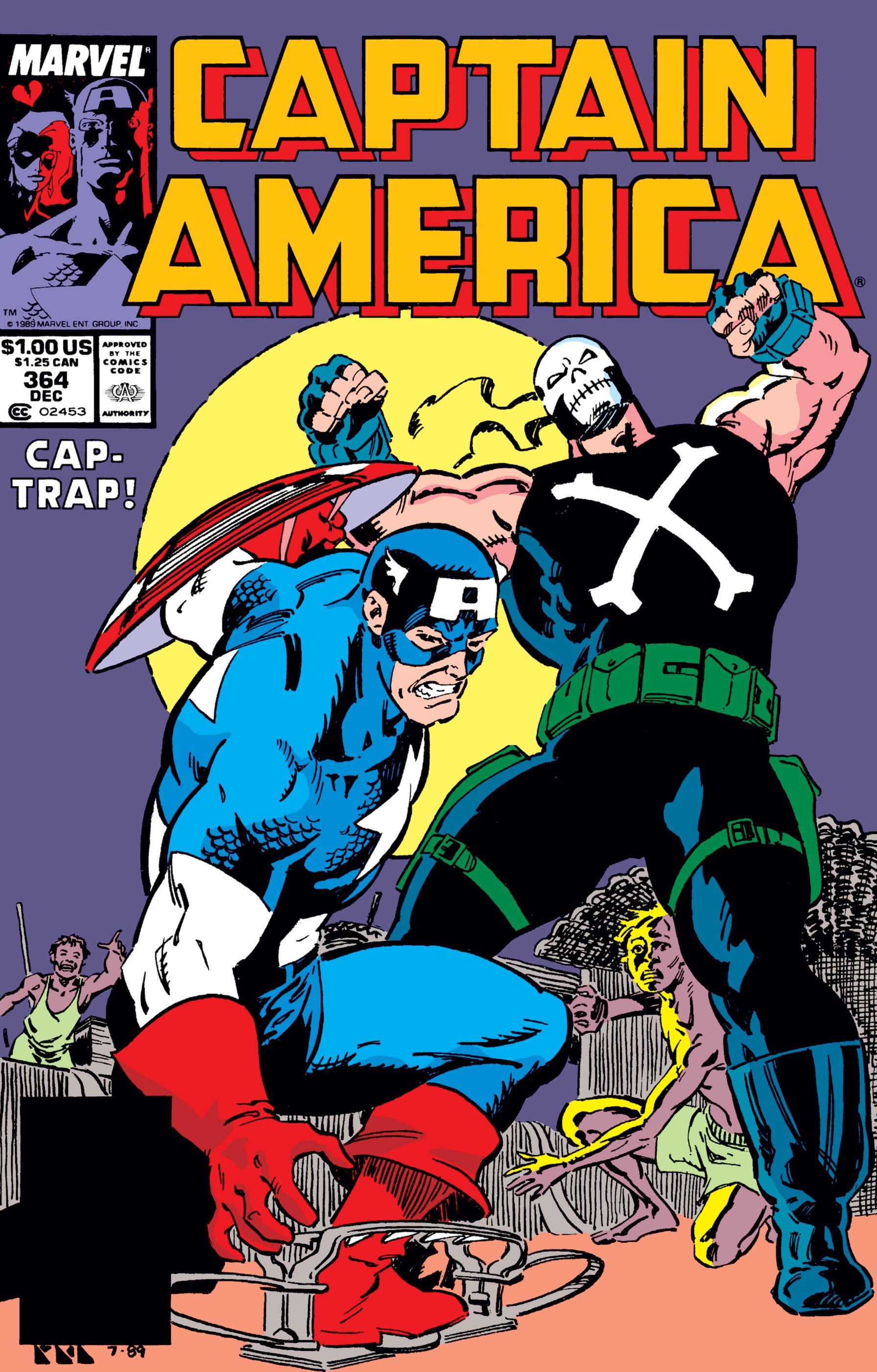 Captain America (1968) #364