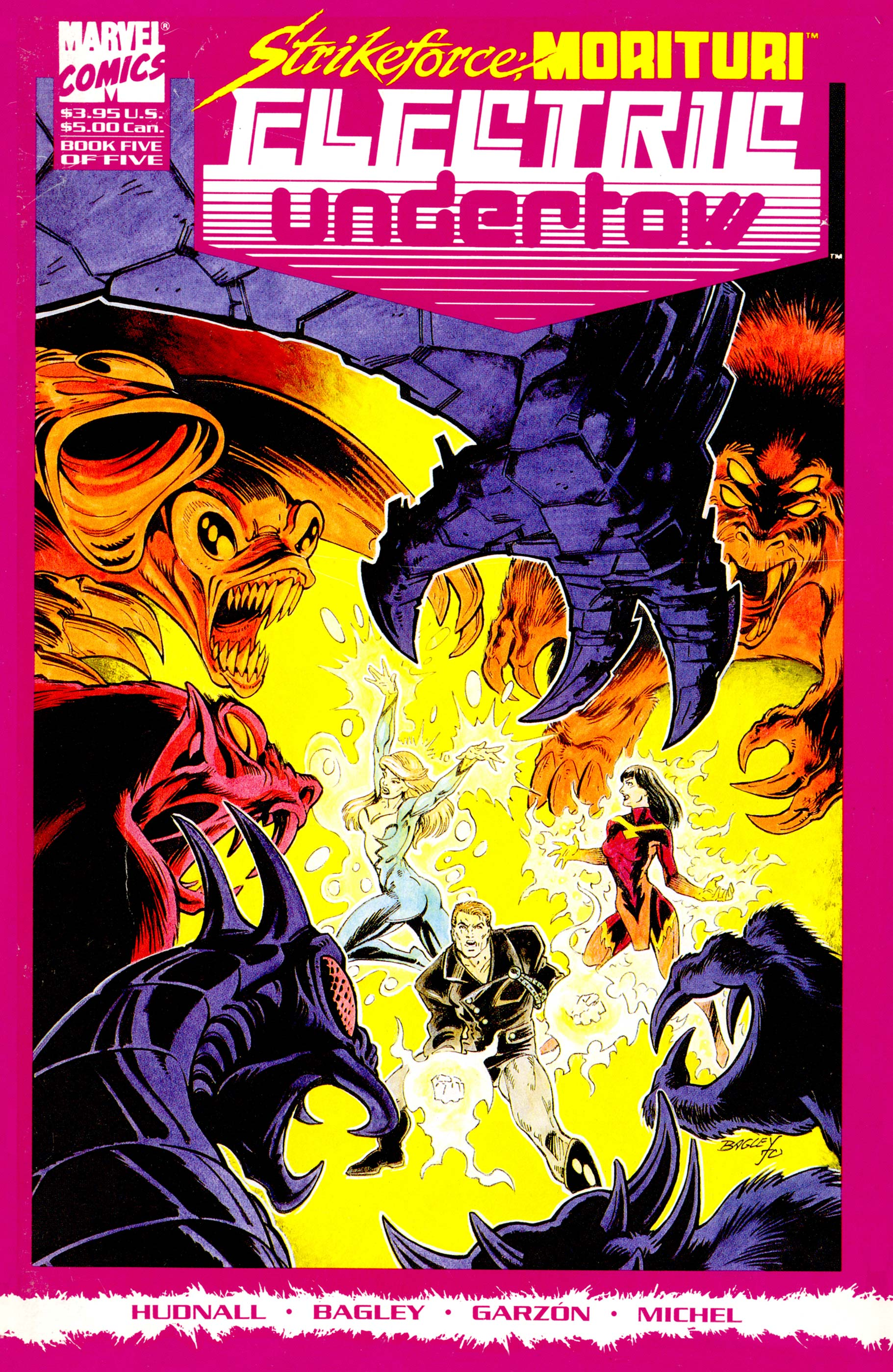 Strikeforce Morituri: Electric Undertow (1989) #5