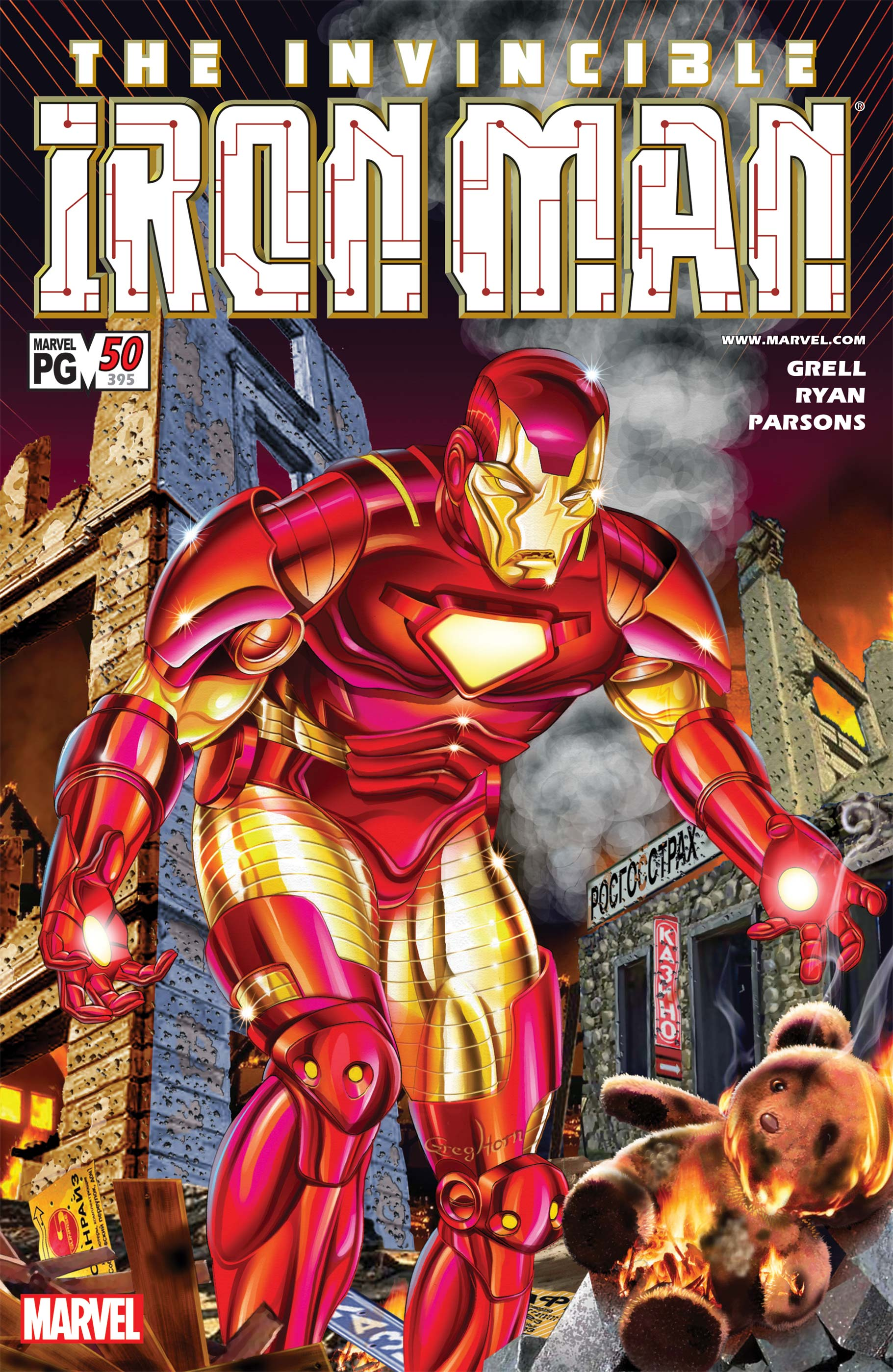 Iron Man (1998) #50