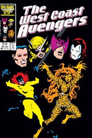 West Coast Avengers (1985) #16