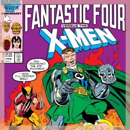 Fantastic Four Vs. X-Men (1987)