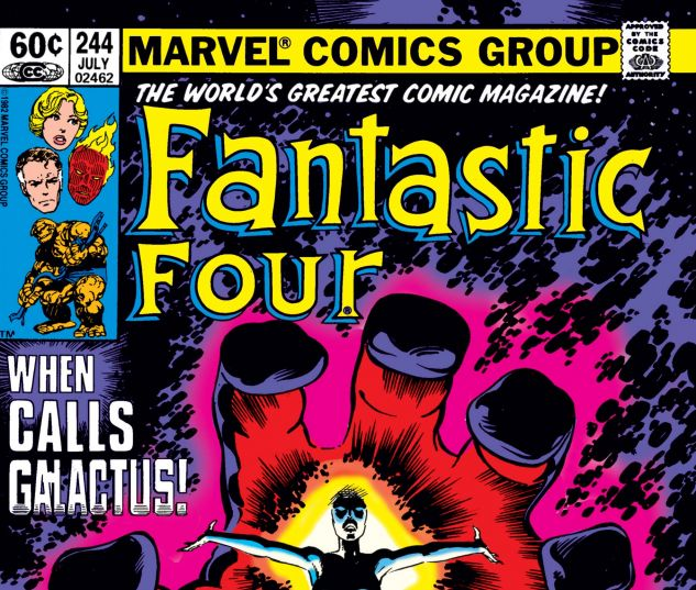 Fantastic Four (1961) #244