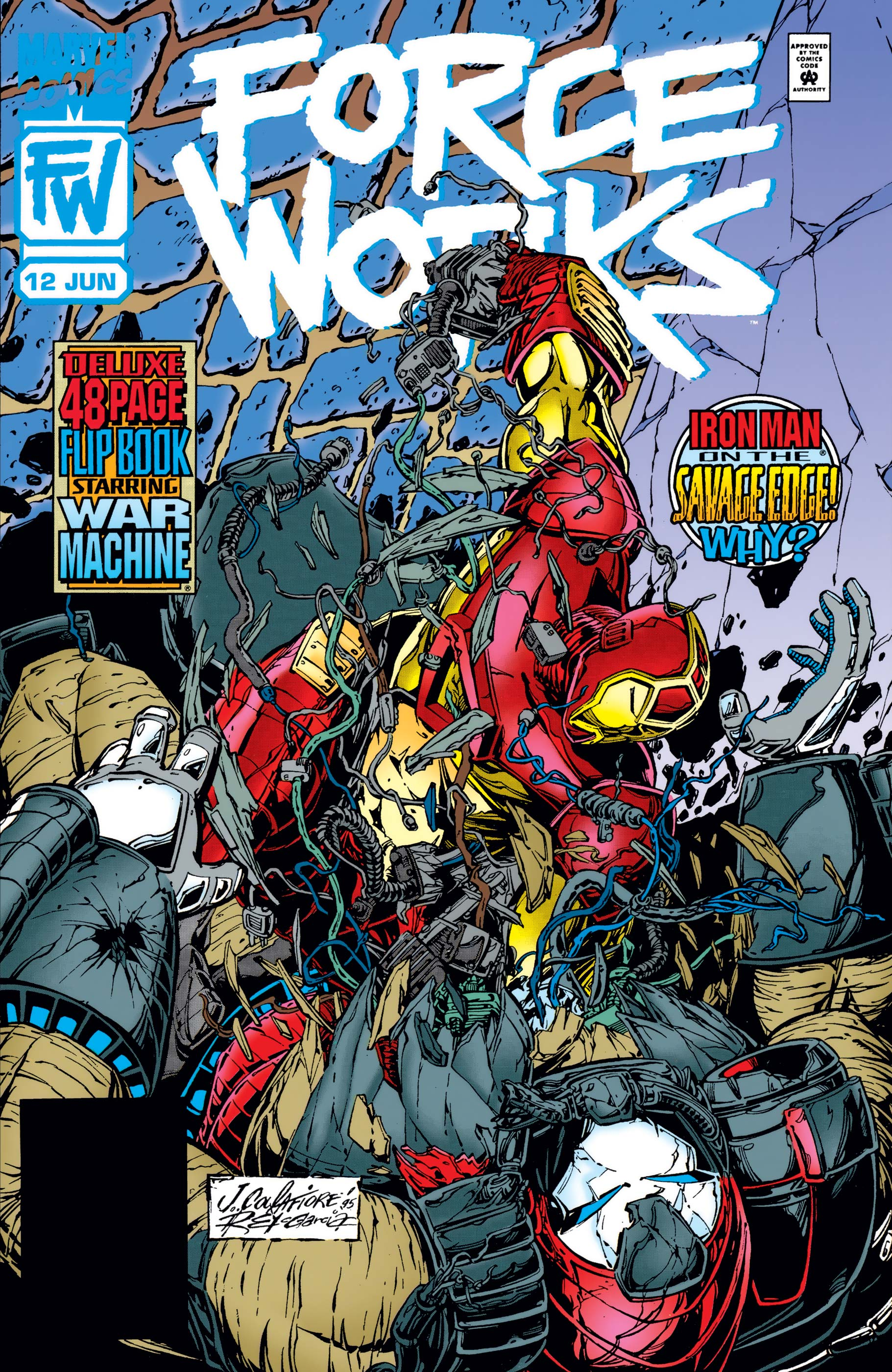 Force Works (1994) #12
