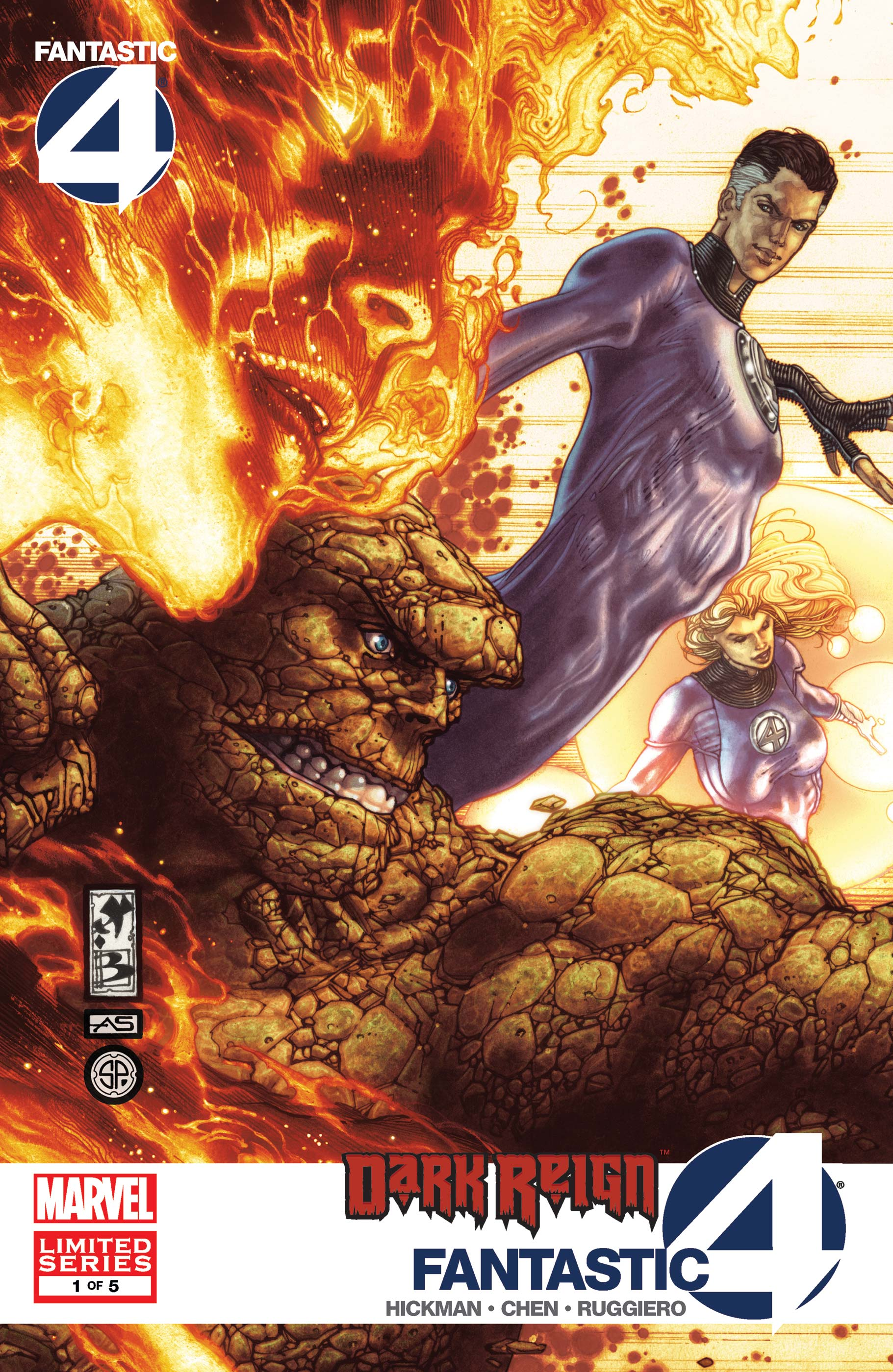 Dark Reign: Fantastic Four (2009) #1