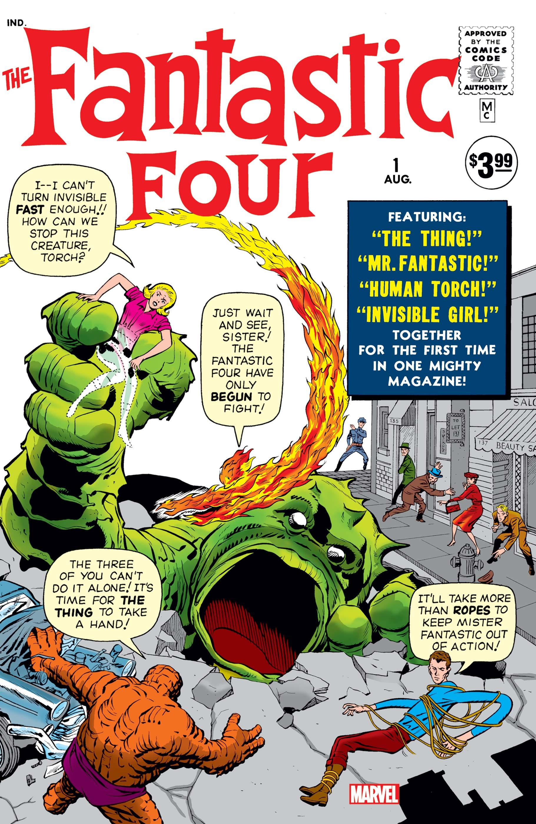 Fantastic Four Facsimile Edition (2018) #1