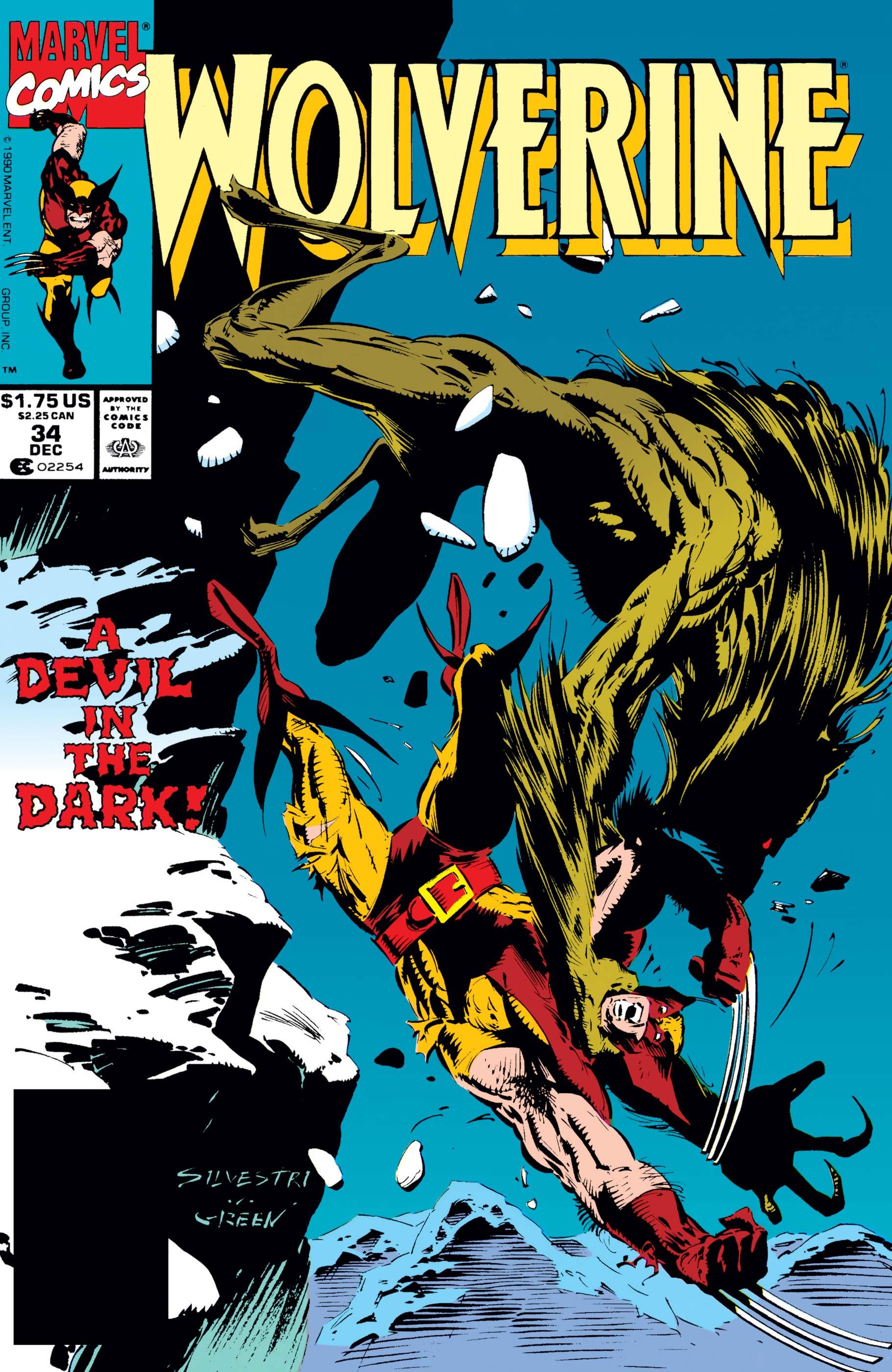 Wolverine (1988) #34
