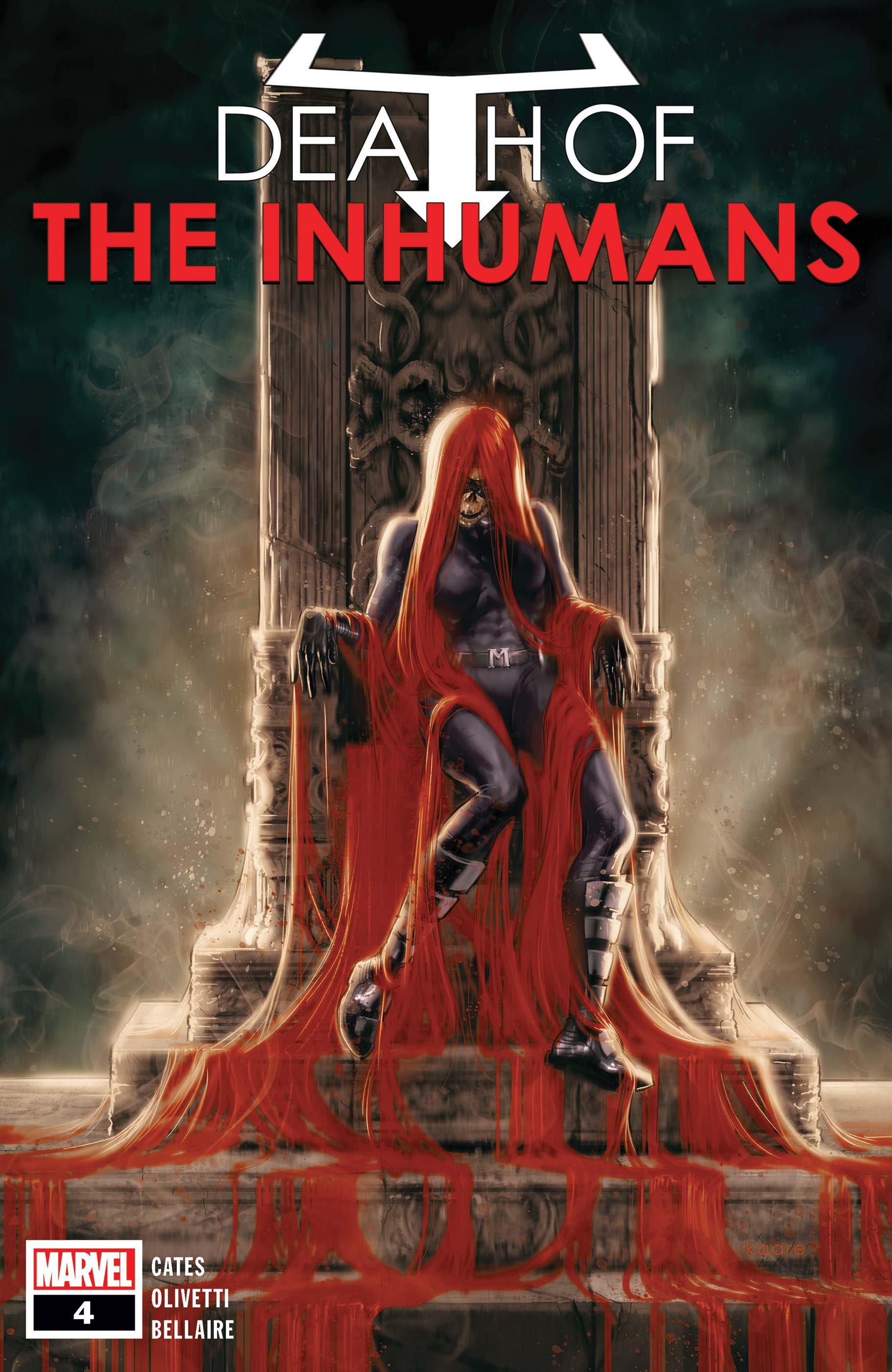 Death of the Inhumans (2018) #4