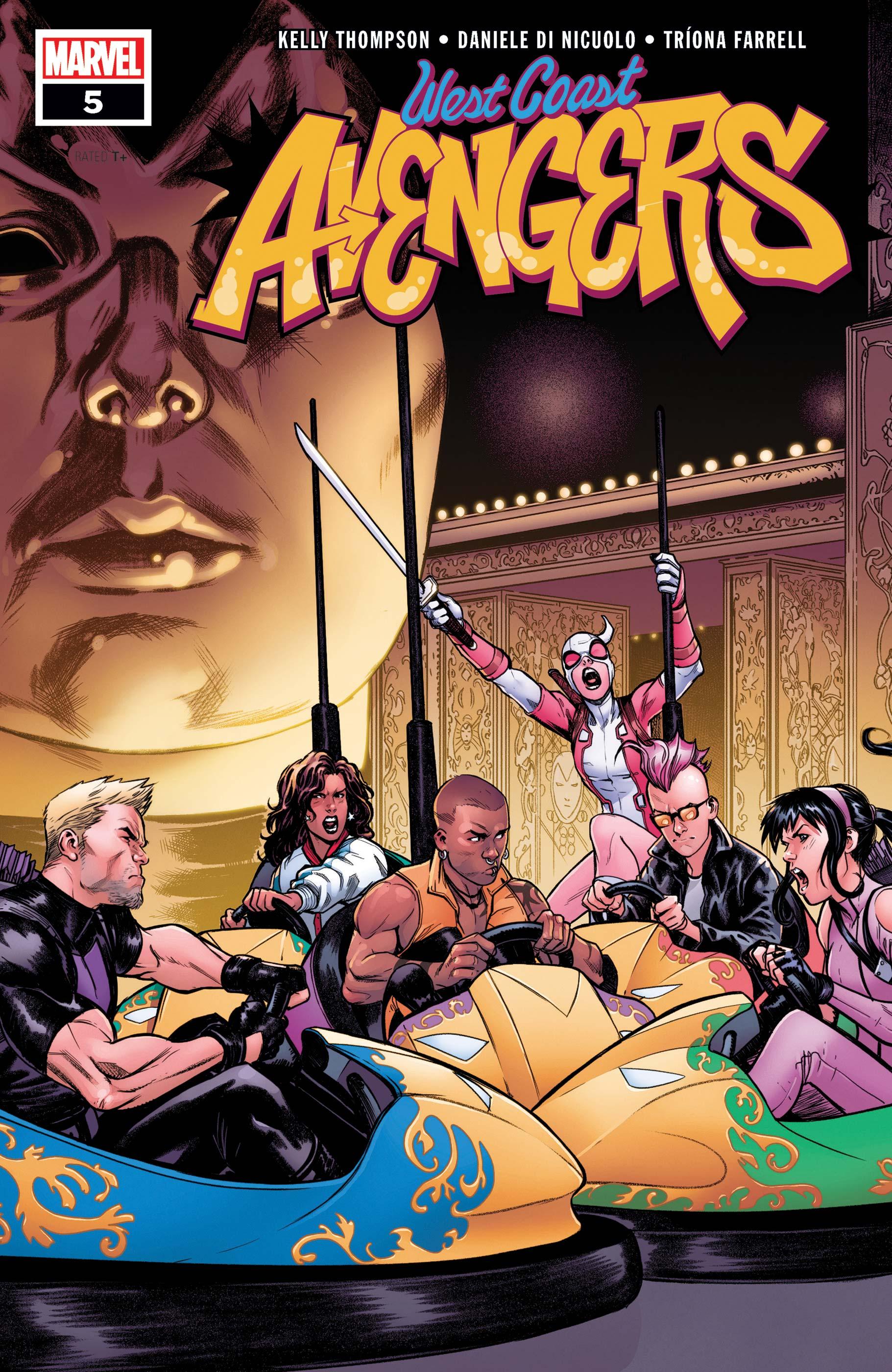 West Coast Avengers (2018) #5