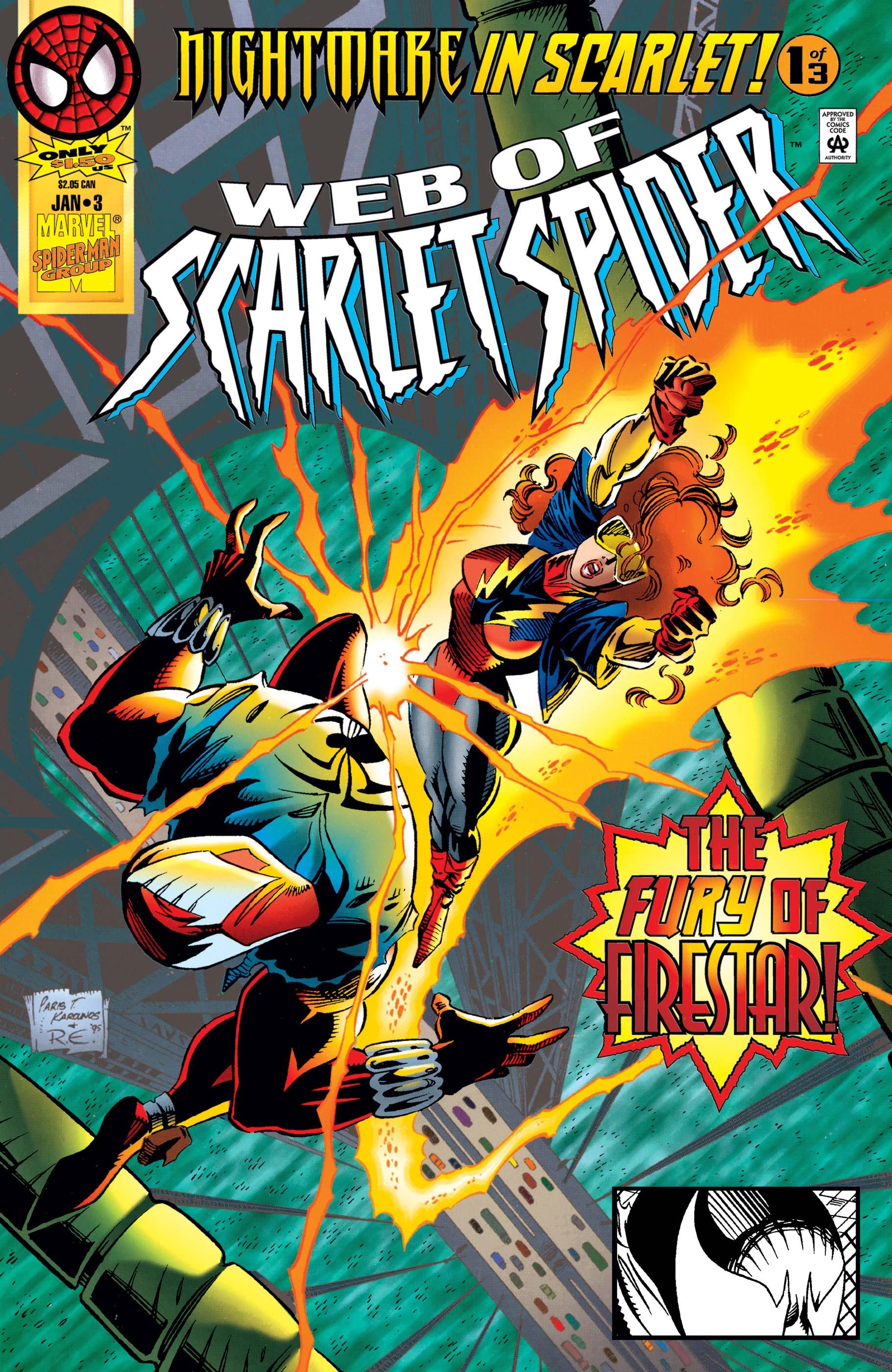 Web of Scarlet Spider (1995) #3