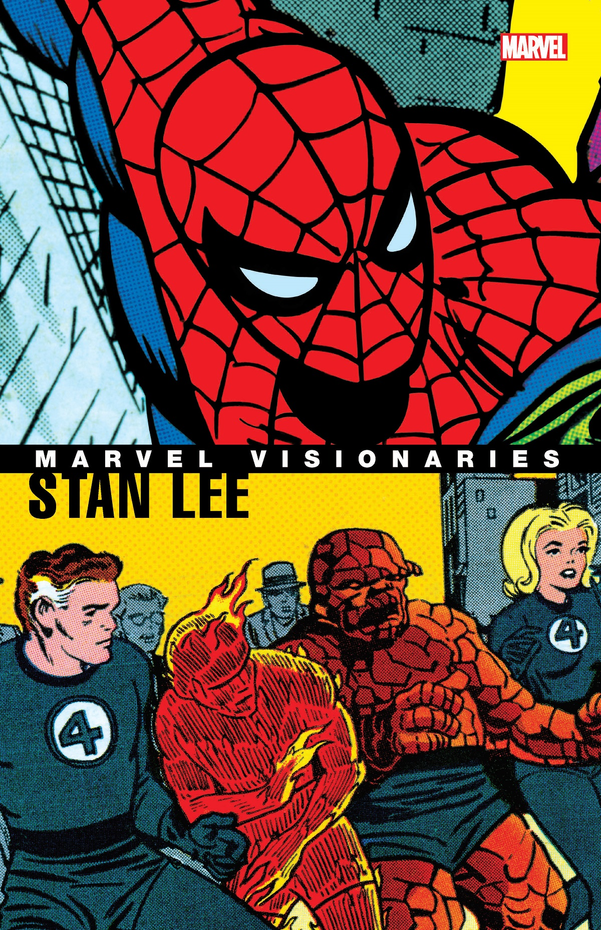 Marvel Visionaries: Stan Lee (Trade Paperback)