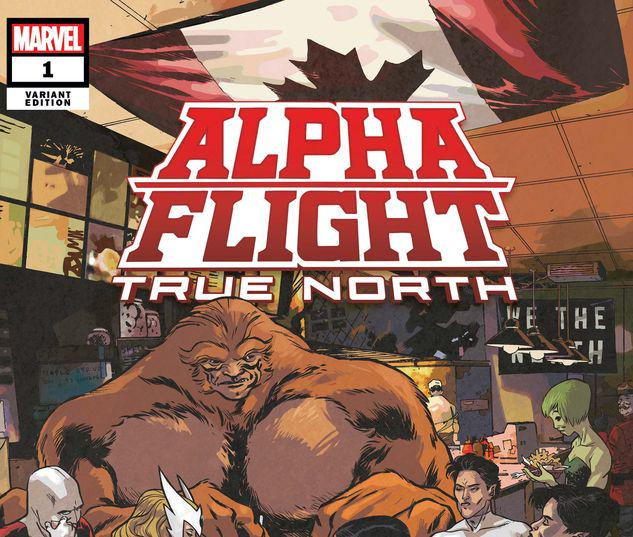 ALPHA FLIGHT: TRUE NORTH 1 PEREZ VARIANT #1
