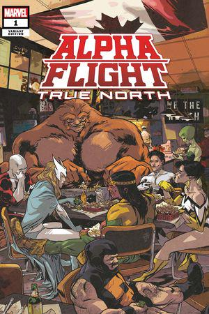 Alpha Flight: True North (2019) #1 (Variant)
