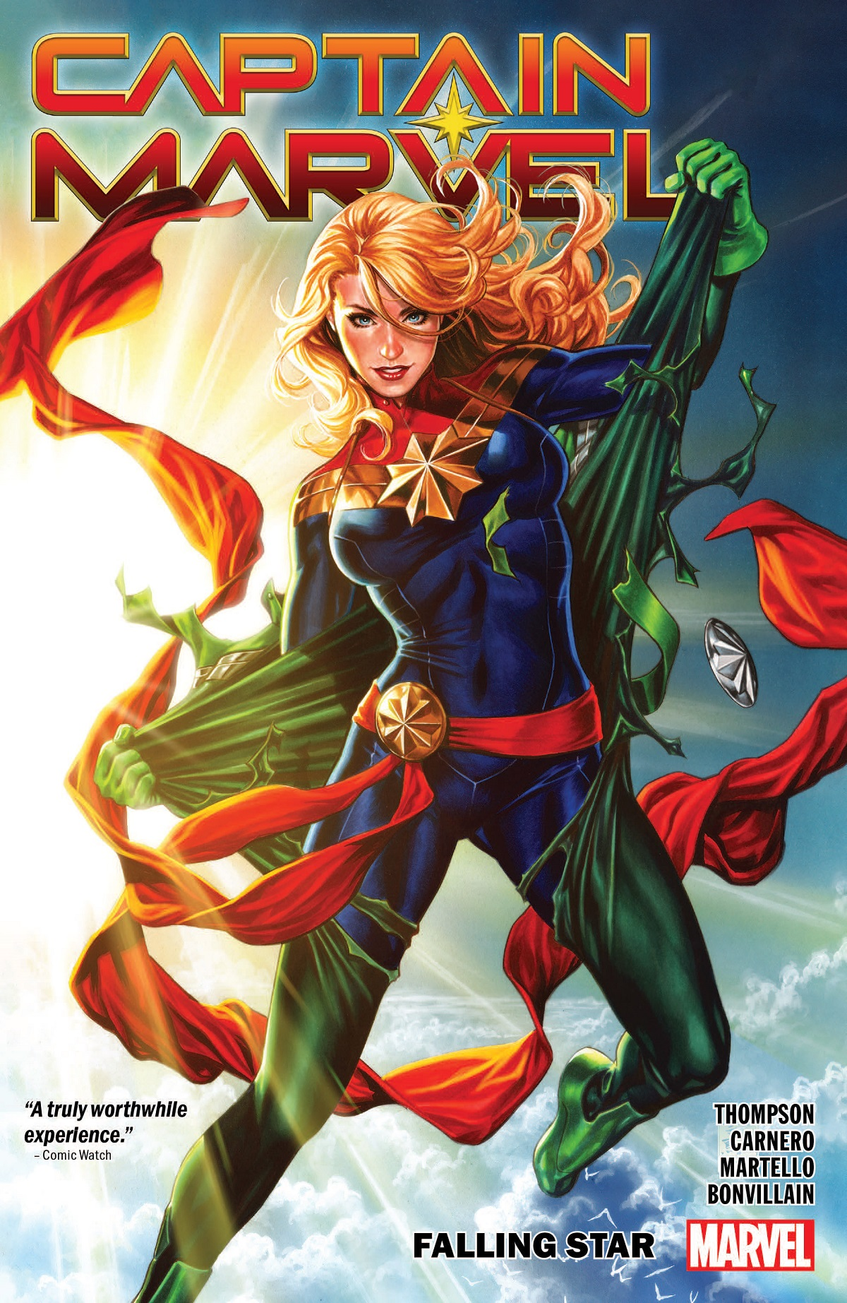 Captain Marvel Vol. 2: Falling Star  (Trade Paperback)