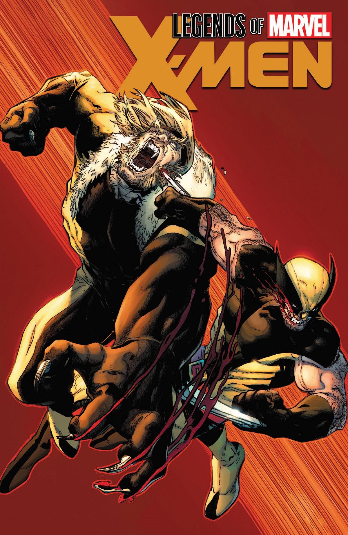 Legends Of Marvel: X-Men (Trade Paperback)