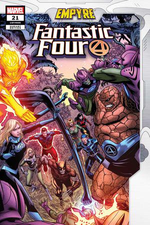 Fantastic Four (2018) #21 (Variant)
