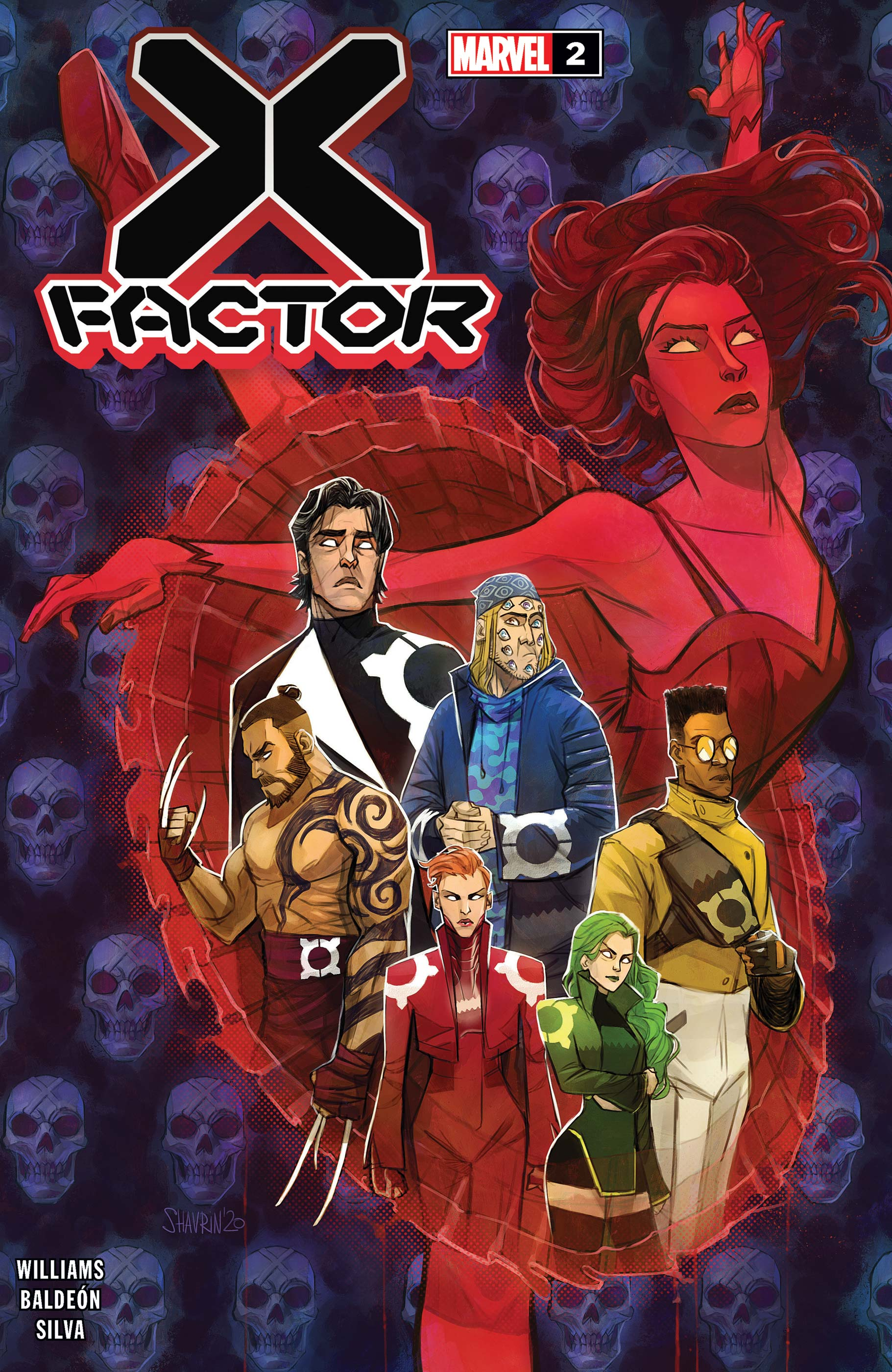 X Factor 2020 2 Comic Issues Marvel