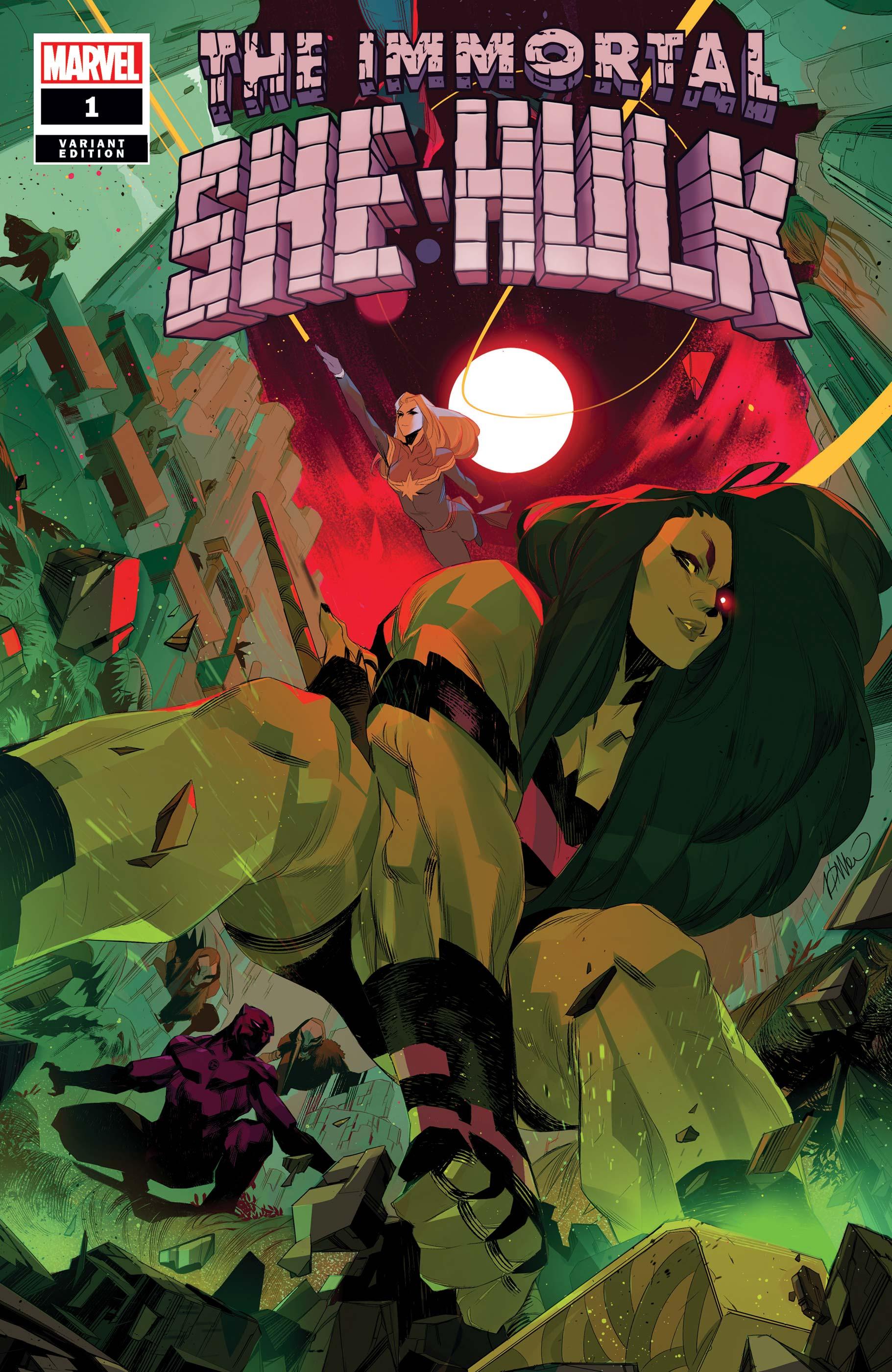 Immortal She-Hulk (2020) #1 (Variant)