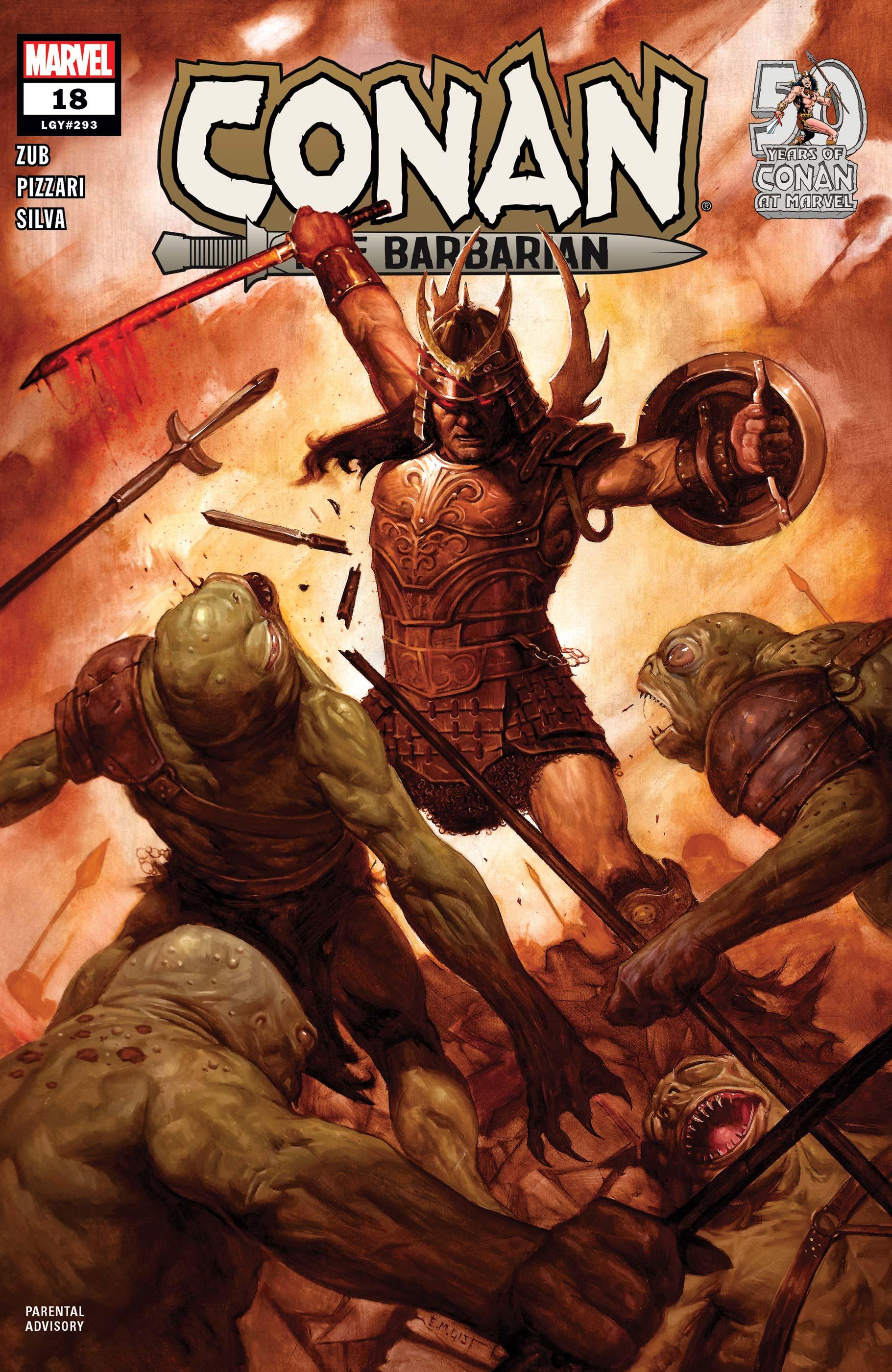 Conan the Barbarian (2019) #18