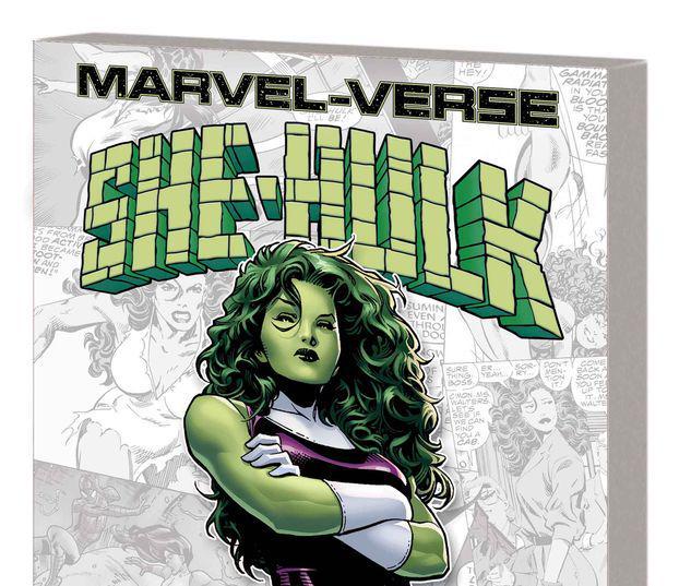 MARVEL-VERSE: SHE-HULK GN-TPB #1