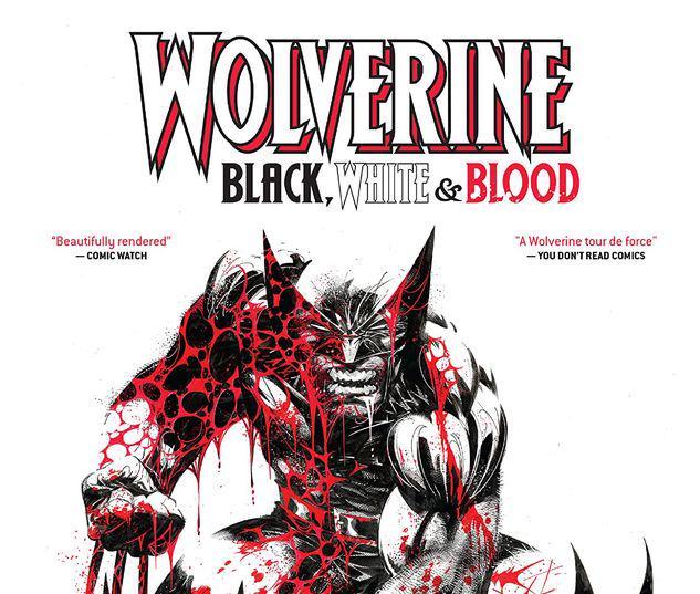 WOLVERINE: BLACK, WHITE & BLOOD TREASURY EDITION TPB #1