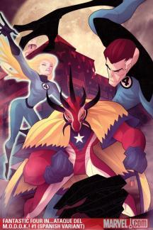 Fantastic Four in...Ataque Del M.O.D.O.K.! (2010) #1 (SPANISH VARIANT)