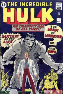 Image result for incredible hulk 1 cover 1962